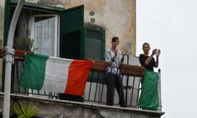 Italia Aplausos Portada